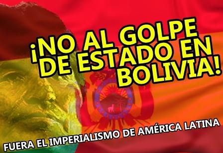 No al Golpe Bolivia